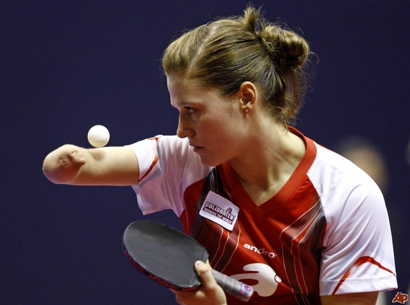 Polish Para-Table Tennis Player Partyka Voted IPC Athlete of the Month