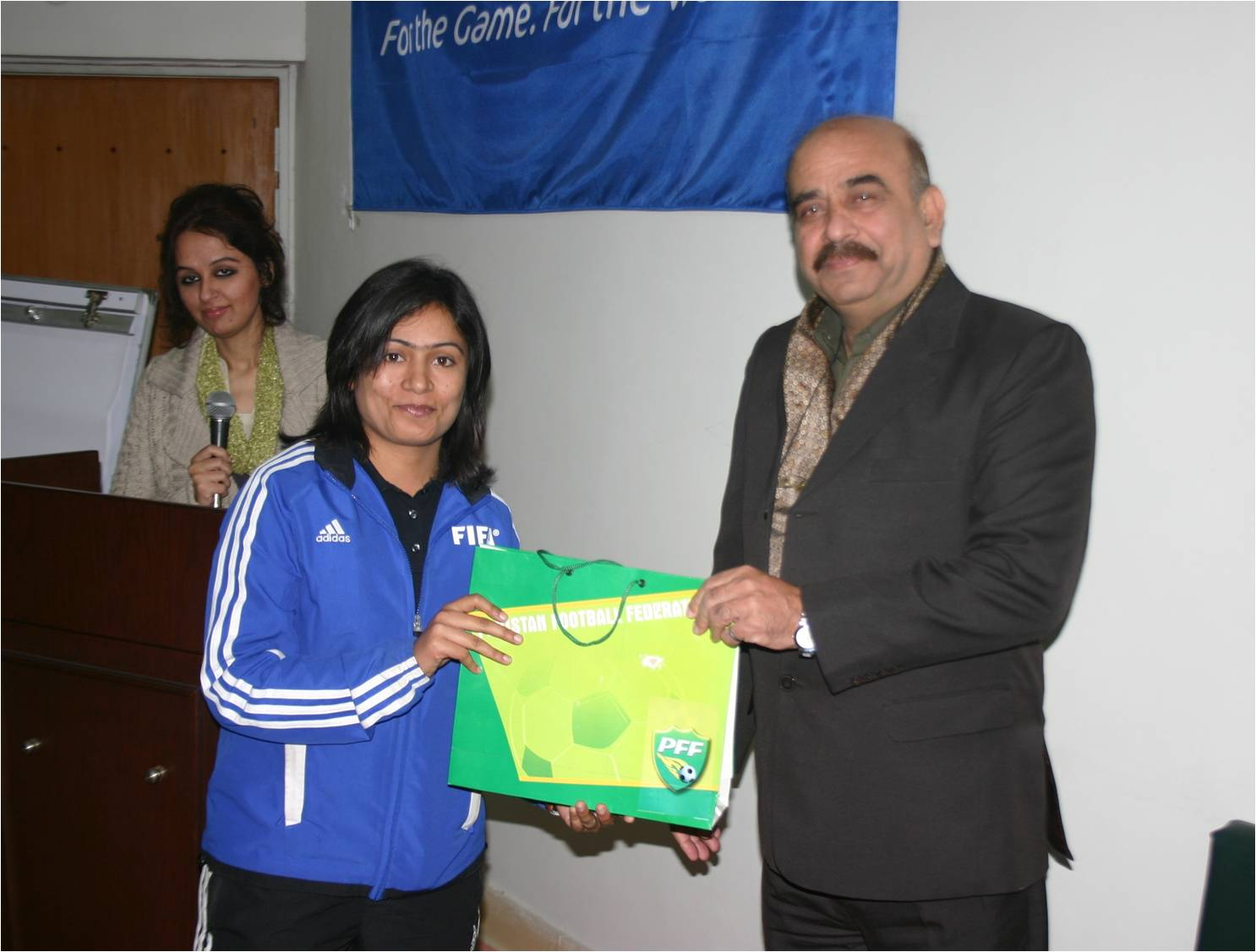 """Second AFC """"C"""" Certificate Coaching Course for Women-2011 is concluded today"""