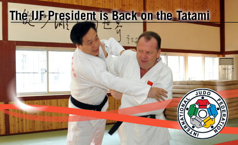 IJF President, Marius L. Vizer Back on the Tatami