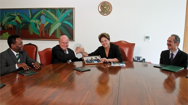 Constructive meeting with President Rousseff establishes joint 2014 mission