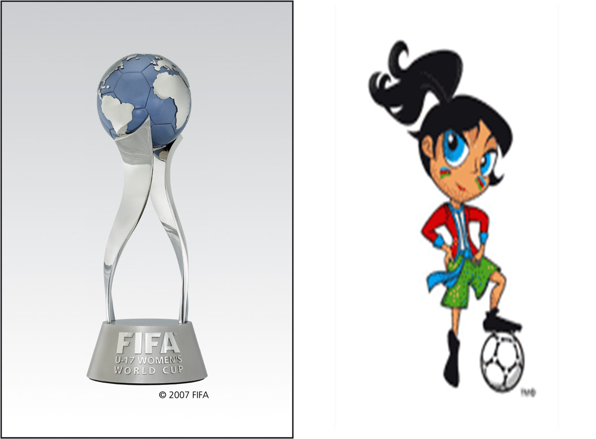 FIFA U-17 Women's World Cup 2012 Trophy mascot unveiled