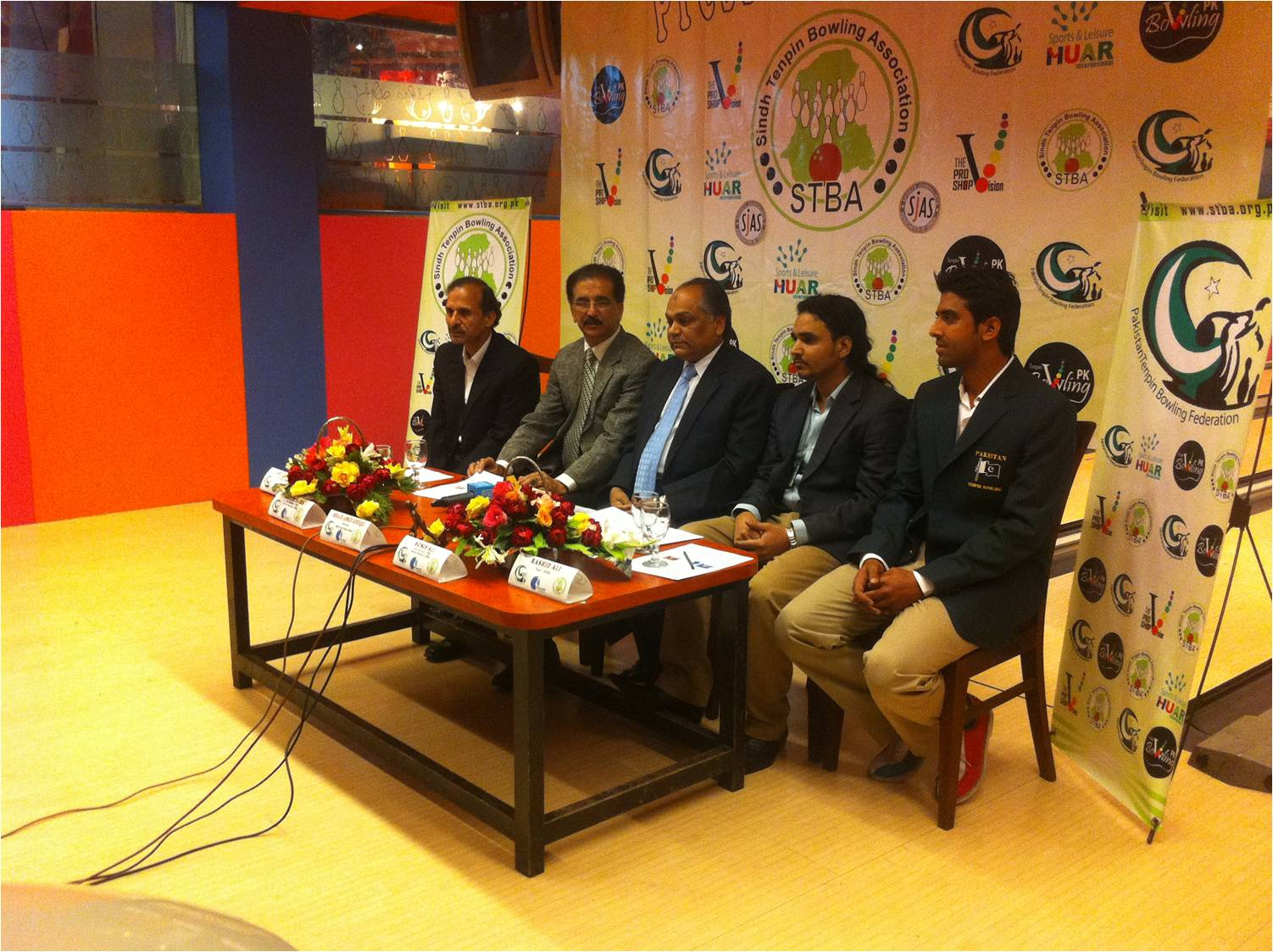 Team Pakistan First time appear in Euro Challenge 2012 Bowling Championship