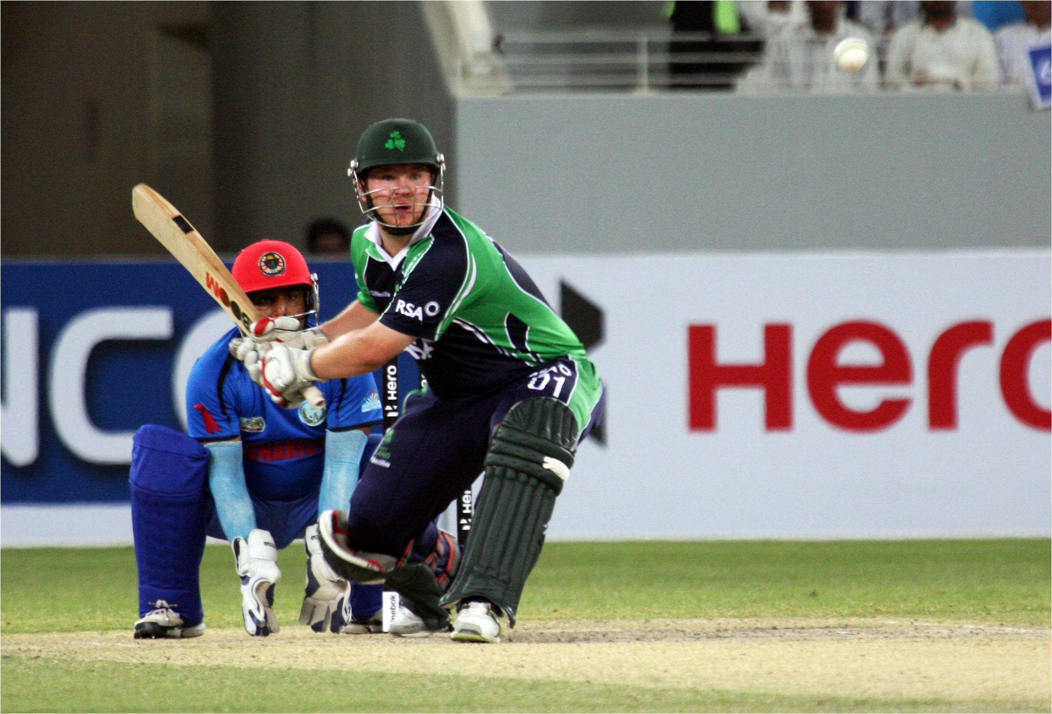Ireland beat Afghanistan by 5 wickets in the Final of the ICC Twenty20 Qualifier