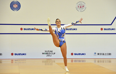 FIG Aerobic Gymnastics World Cup B Suzuki World Cup 2012