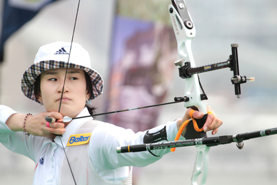 Archery World Cup 2012: The two top athletes confirm supremacy