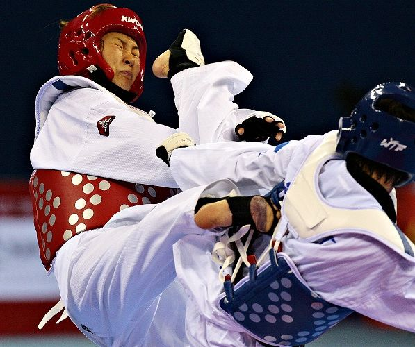 Korea Wins 3 Golds on 2nd Day & Iran, Russia Clinch 1 Gold, 1 Bronze Each