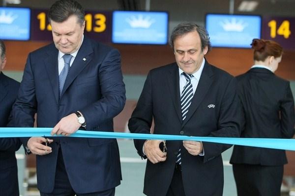UEFA President visits Lviv and Warsaw