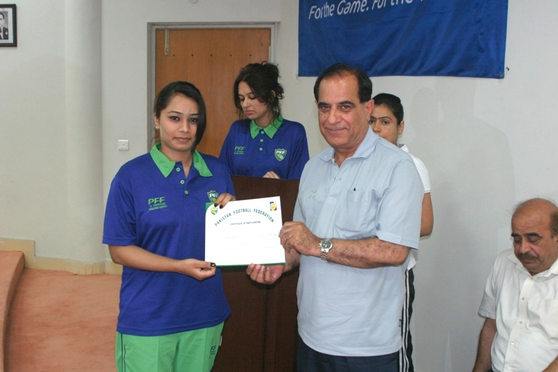 "PFF ""D"" Certificate Coaching Course for women concluded"
