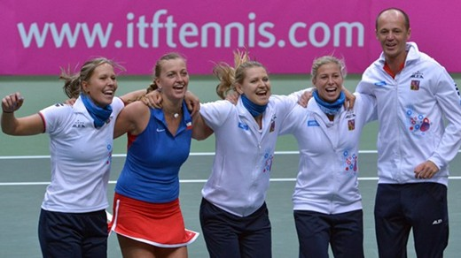 Serbia and Czech Republic to meet in Fed Cup Final
