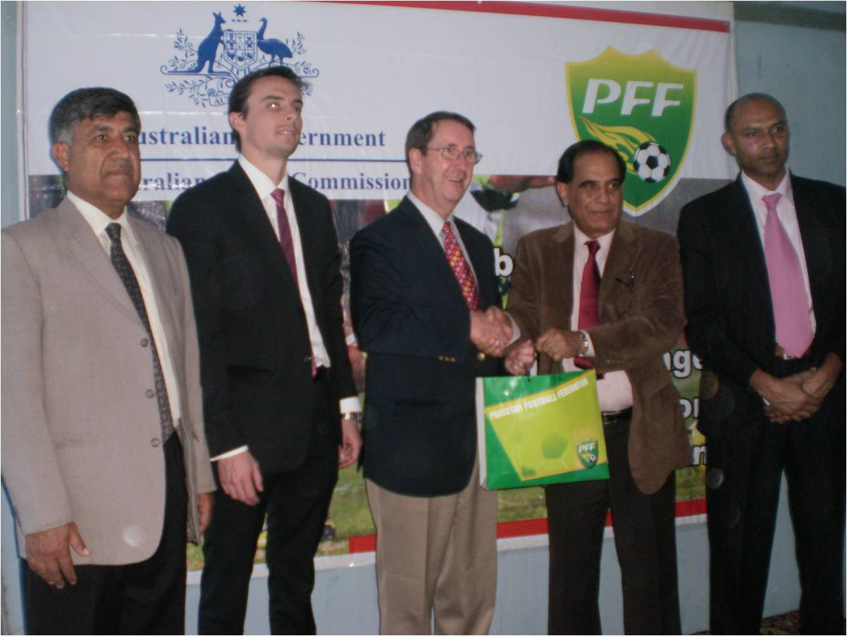 Australia repeats its ASOP grant to PFF for youth football development in Pakistan
