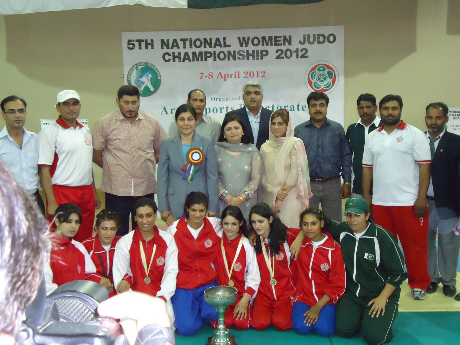 Final Results of the 5th Women National Judo Championships 2012