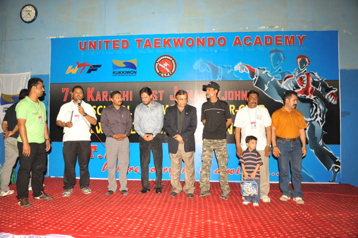 7TH UTA All Karachi Inter-School Taekwondo Championships-2012