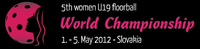 Schedule of the U19 Women´s WC 2012