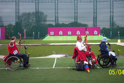 New world record at the Para Archery Test Event