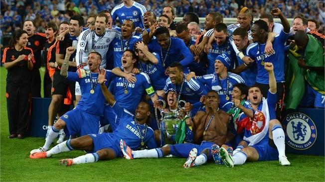 Chelsea crowned kings of Europe 2012