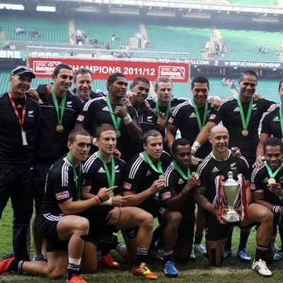 New Zealand clinch HSBC Sevens World Series as Fiji claim London title