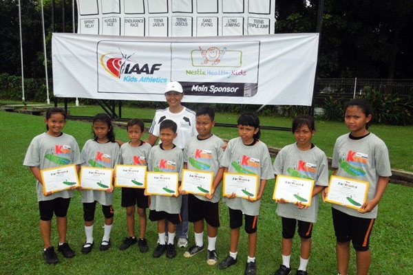 IAAF/Nestlé Kids' Athletics Programme developing fast