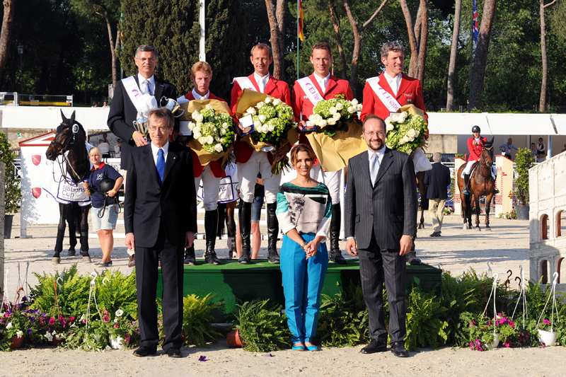 FEI Nations Cup™ 2012 – Round 2 – Convincing win for Germany in Rome