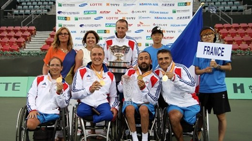 BNP Paribas World Team Cup wheelchair tennis event