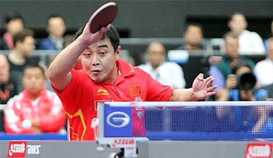 Shock Defeats for Olympic Medalists in Shanghai