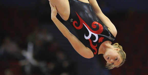 MacLennan and Dong fly high in FIG Trampoline