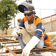 The women's role in the largest road building