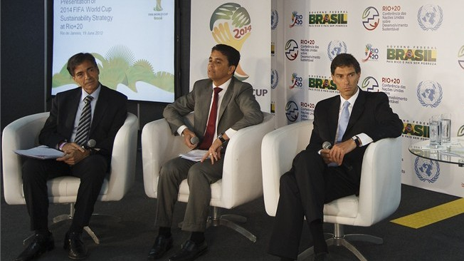 Sustainability strategy presented at Rio+20