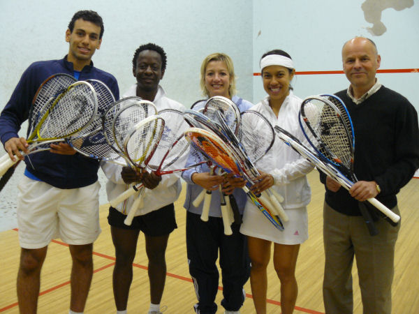 WSF 'Rackets for Africa' Reach Destination