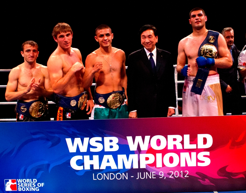 Five boxers crowned WSB World Champions at ExCeL London