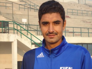 AFC has appointed Khurram Shahzad as FIFA Referee