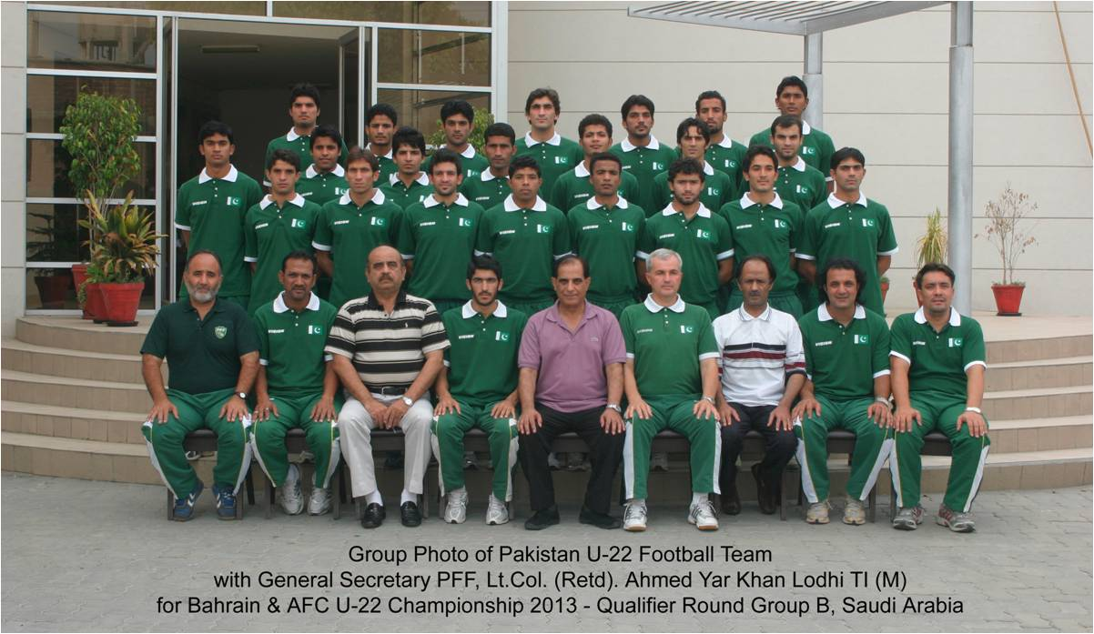 Pakistan U-22 football team left for Bahrain