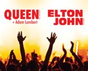 Charity concert of Elton John and Queen