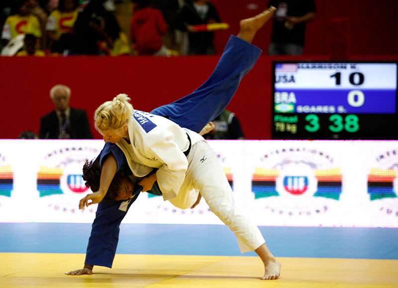 Surprise PENALBER, Judo Grand Slam Rio 2012