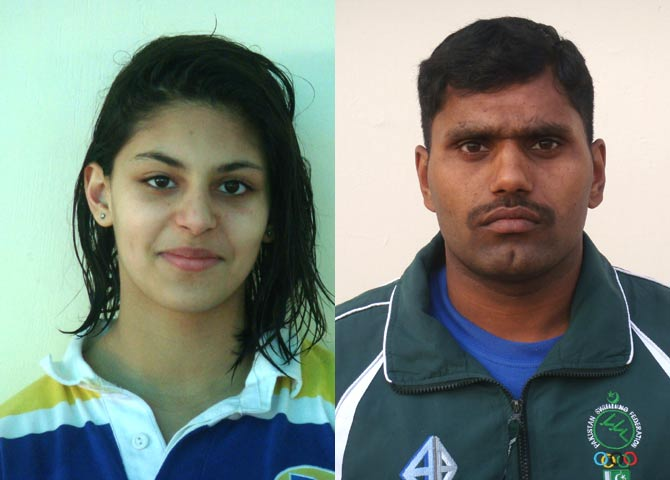 Two Pakistani Swimmers selected by the FINA on Universality place to Swim at London Olympics 2012