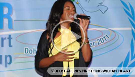 Paulini and Ping Pong Take Centre Stage at Gala