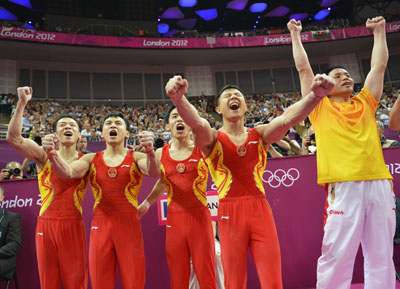 China's error-free routines win them Artistic