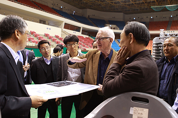 12th WUC Badminton Preparations on Track
