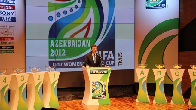 Azerbaijan to play Colombia in the opening