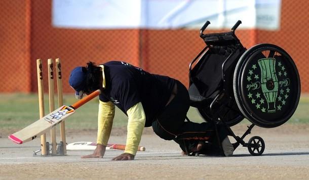 Handicap Team defeated Afghanistan team