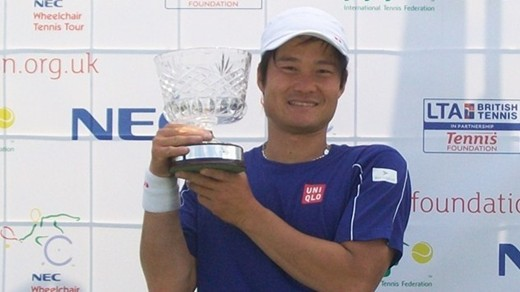 Shingo Kunieda wins fourth British Open title