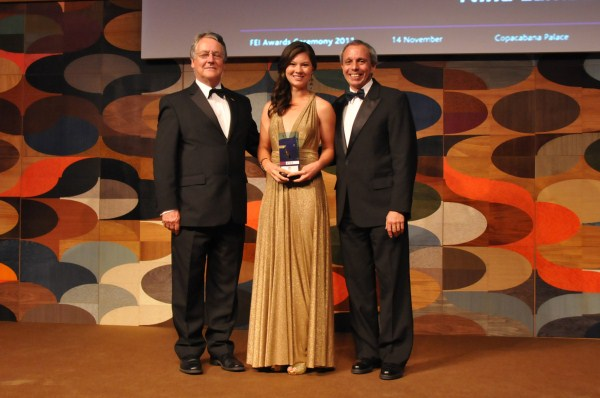 FEI's HSBC Rising Star Award 2011 winner