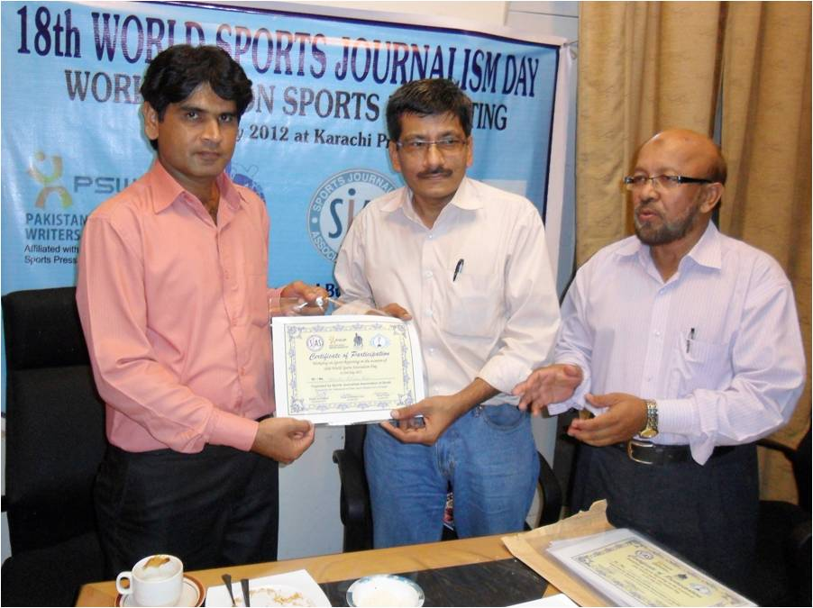 International Sports Journalists Day celebrated