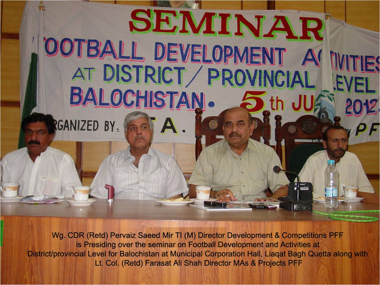One day seminar on Football Activity