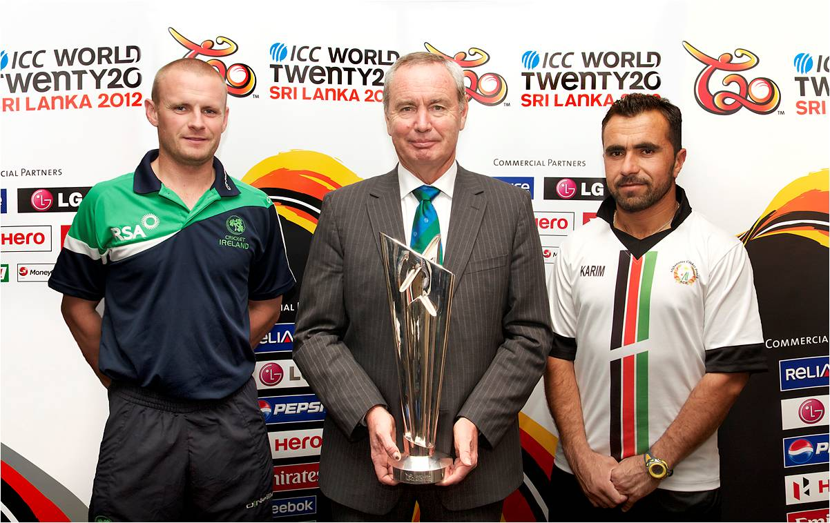 ICC World T20 trophy arrives in Dublin