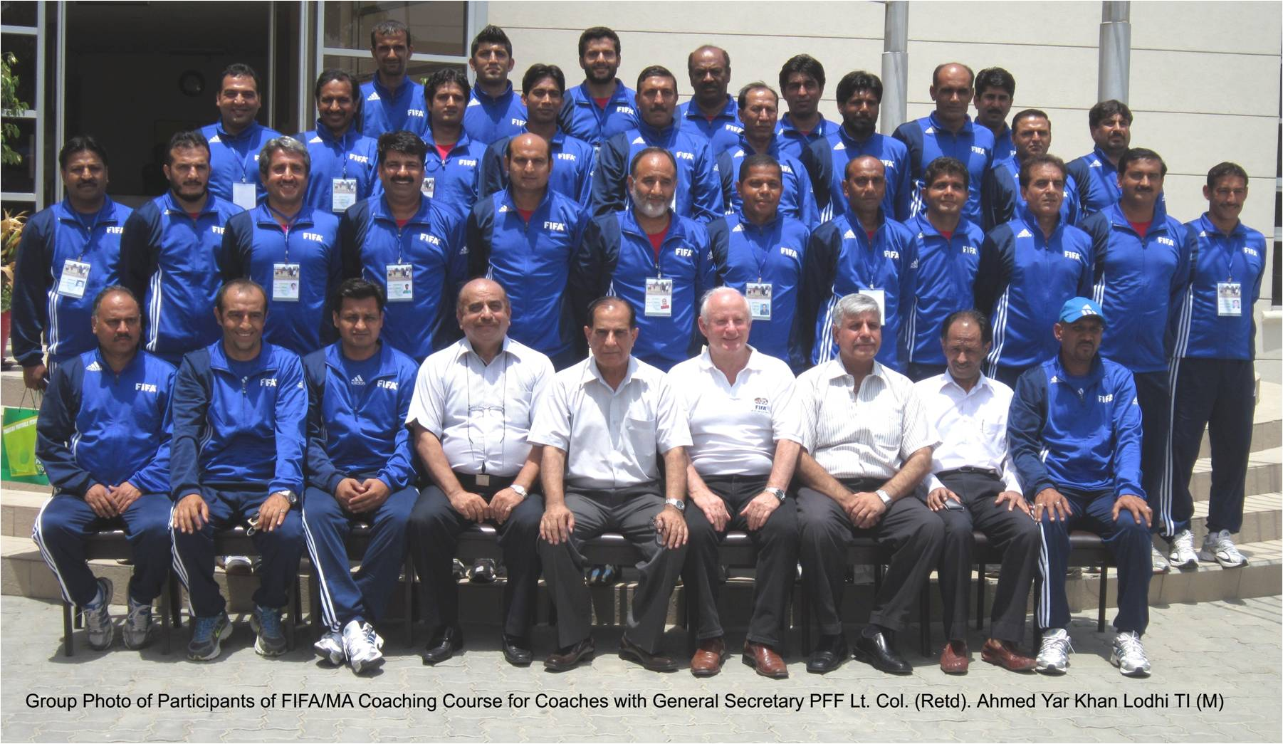 FIFA MA Coaching Course has concluded