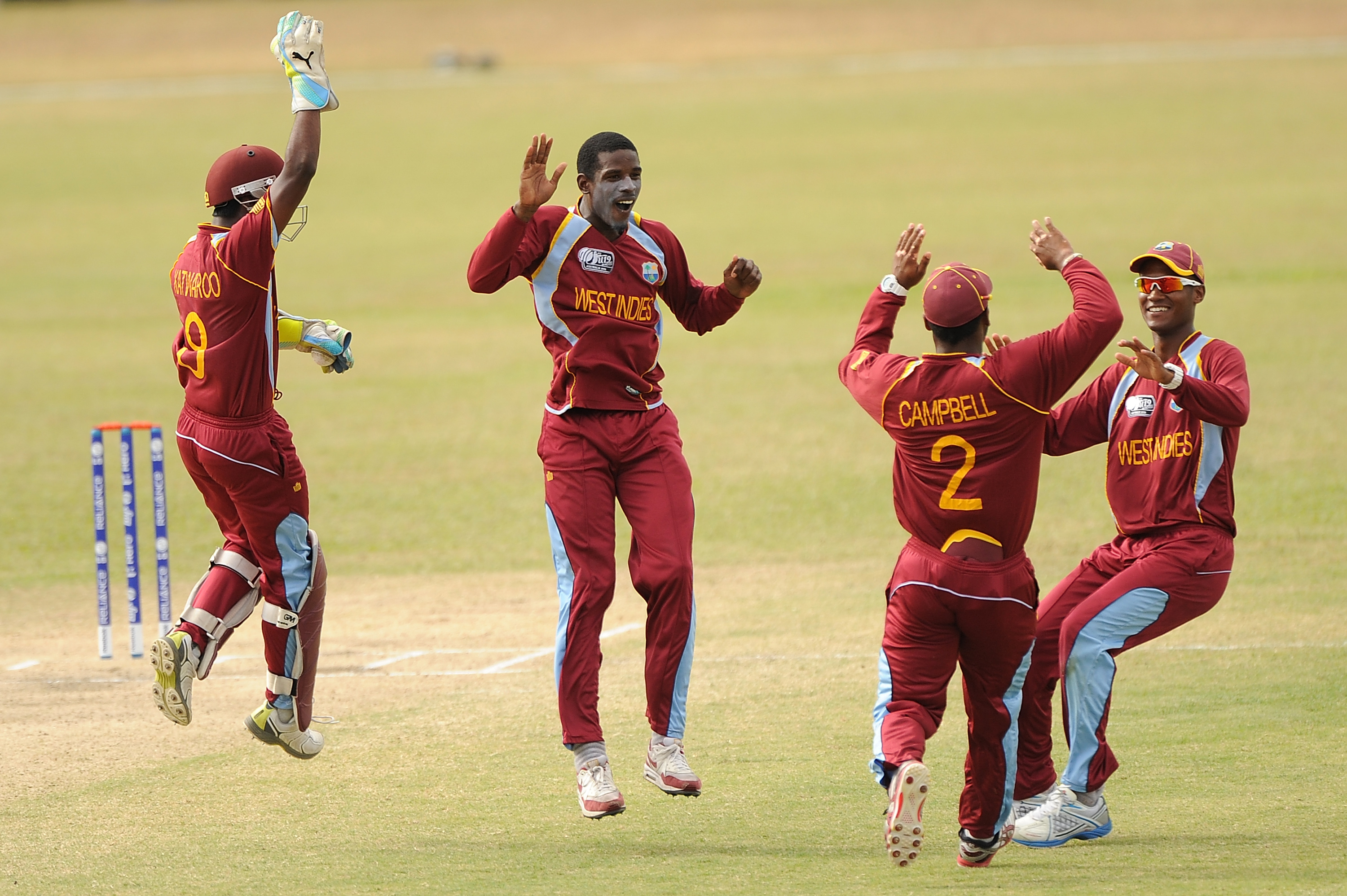 West Indies to meet England in fifth-sixth