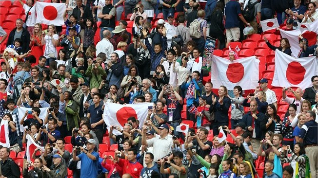Excitement building across Japan