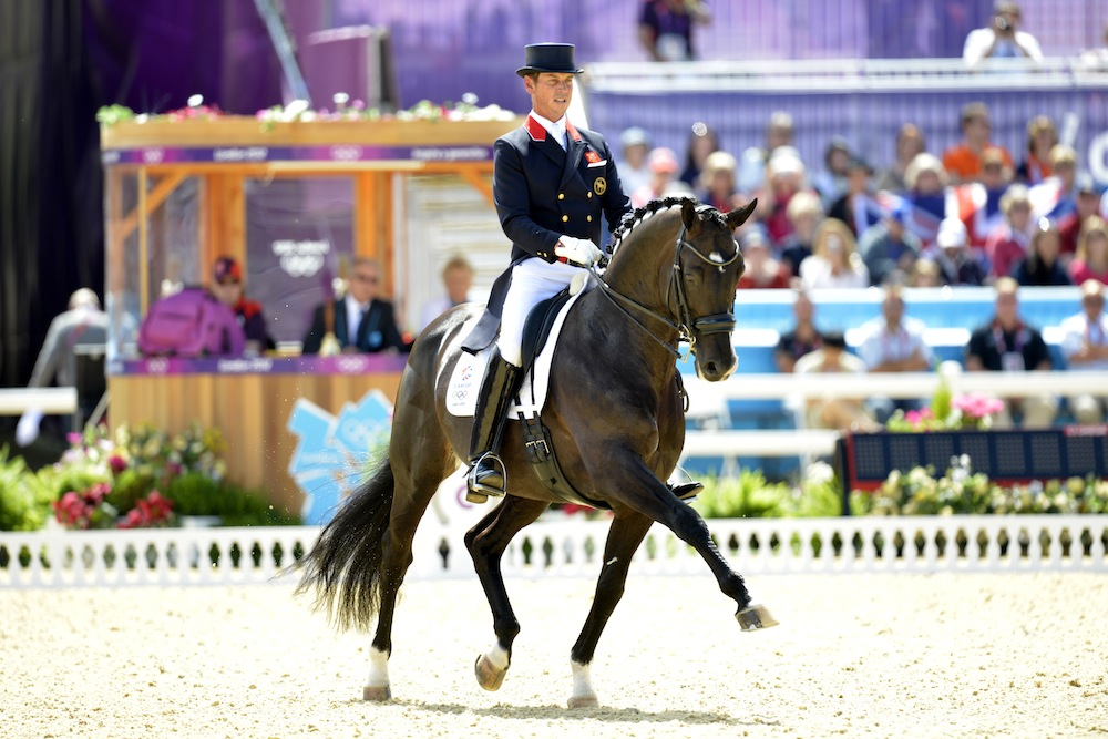 British riders take the lead as dressage