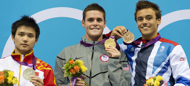 David Boudia wins the men's 10m platform