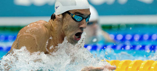 Phelps at his best continues to amaze the world!